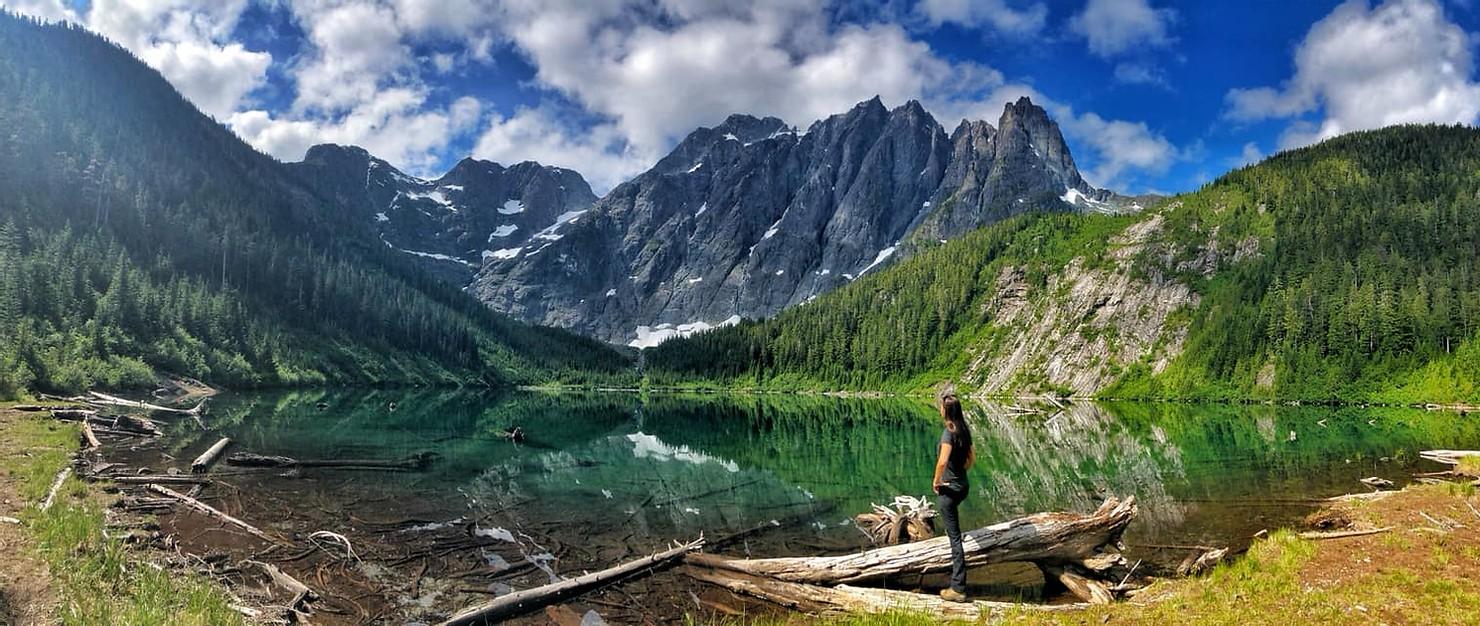 elk-river-trail-to-landslide-lake,-strathcona-park-bc.