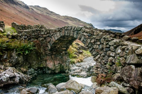 Eskdale - Throstle Garth pack horse bridge