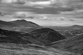 Lake District from Causey Pike